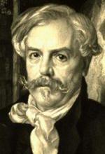 Edmond de Goncourt by Felix Bracquemond