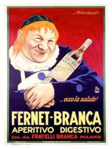 Fernet Branca -- yum