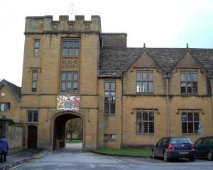 Sherborne School, John Le Carre's alma mater.