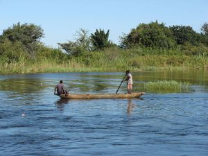 The Zambezi River in Zambia, where Nicola Fuller of Central Africa now lives