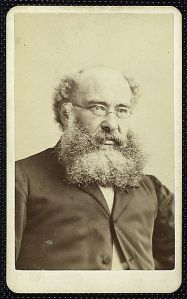 Mr. Trollope, from the New York Public Library's collection. No, he doesn't look like a lot of fun.