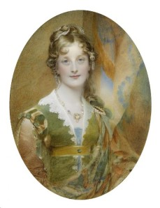 Portrait miniature of Jane by Sir William Charles Ross. Courtesy of Paul Fraser Collectibles