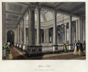 Phineas' first London club, the Reform Club, staunchly Liberal. Later he trades up to the more exclusive Brooks's.