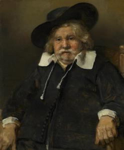Rembrandt's Old Man: look at the left hand. Courtesy Mauritshuis, The Hague.