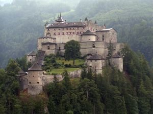 Hohenwerfen Castle near Salzburg. Pfaffenstein in the novel might look like this.