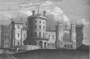 Belvoir Castle in 1819