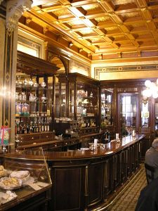Demel's famous cafe in Vienna.