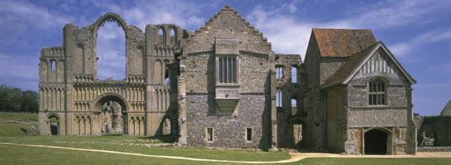 Castle Acre Priory, Norfolk, courtesy English Heritage