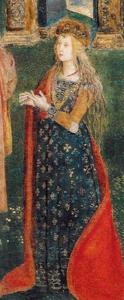 Lucrezia, also by Pinturicchio.